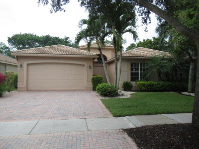 Lake Worth Single Family Home For Sale: 8951 Majorca Bay Drive