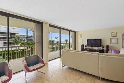Palm Beach Condo For Sale: 3300 S Ocean Boulevard #204 N