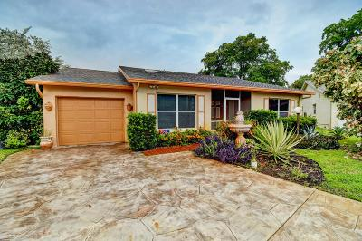 Lake Worth, Lakeworth Single Family Home For Sale: 7286 Pinecone Terrace