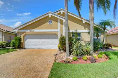 Boca Raton Single Family Home For Sale: 11108 Clover Leaf Circle Circle