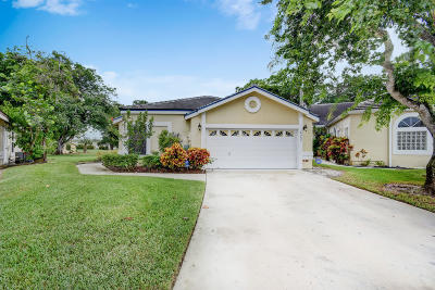 Lake Worth, Lakeworth Single Family Home For Sale: 8055 Burlington Court
