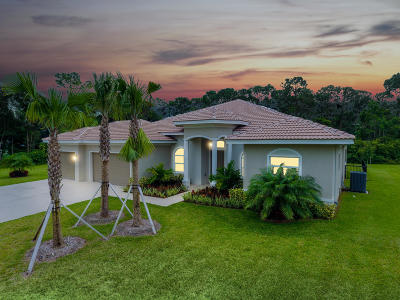 Lake Worth Single Family Home For Sale: 8268 Rodeo Drive