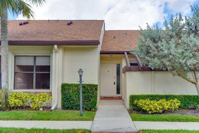 Lake Worth Single Family Home For Sale: 3615 Caesar Lane #C