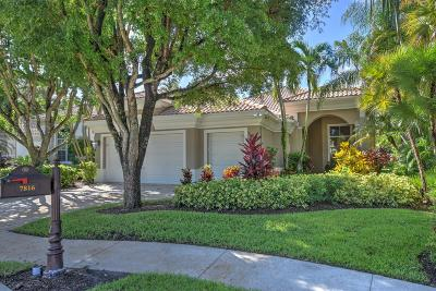 Delray Beach Single Family Home For Sale: 7816 L Aquila Way