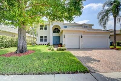 Boynton Beach Single Family Home Contingent: 45 Lake Eden Drive