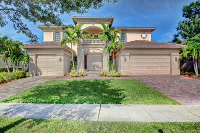 Royal Palm Beach Single Family Home For Sale: 591 Glenfield Way