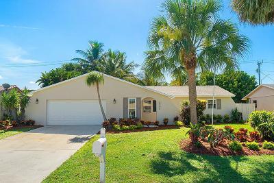 Palm Beach Gardens Single Family Home Contingent: 10175 Flag Drive