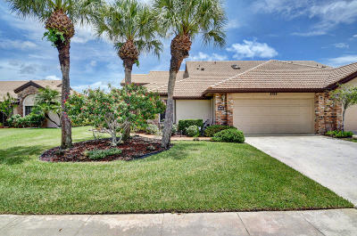 Boynton Beach Single Family Home For Sale: 8192 Bellwort Place