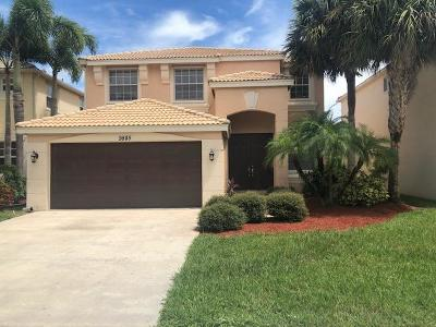 Wellington Single Family Home For Sale: 9885 Woodworth Court