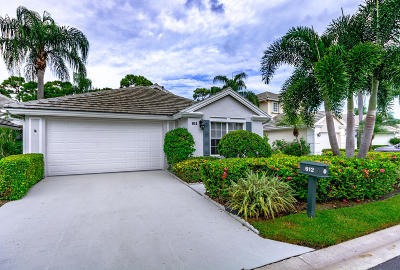 Palm Beach Gardens Single Family Home Contingent: 612 Masters Way