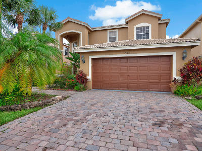 Lake Worth Single Family Home For Sale: 7300 Viale Sonata