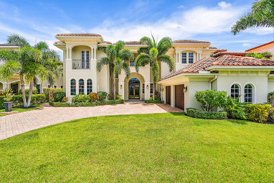 Palm Beach Gardens Single Family Home For Sale: 12860 Inshore Drive