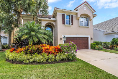 Palm Beach Gardens Single Family Home For Sale: 93 Satinwood Lane