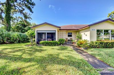 Delray Beach Single Family Home For Sale: 5050 Nesting Way #A