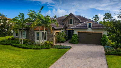 Jupiter Single Family Home Pending: 8145 SE Red Root Way