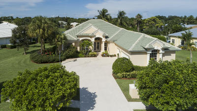 Jupiter Single Family Home For Sale: 18585 Lakeside Gardens Drive