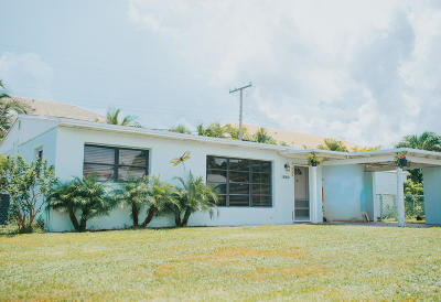 North Palm Beach Single Family Home For Sale: 1880 Kathy Lane