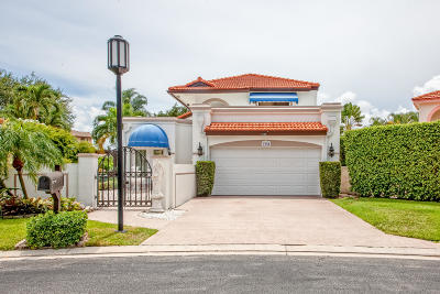 Delray Beach Single Family Home For Sale: 3548 Ensign Circle