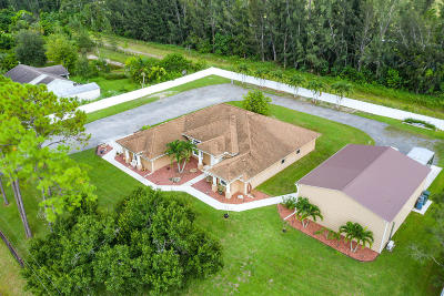 Loxahatchee Single Family Home For Sale: 17808 60th Lane