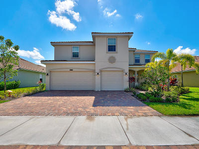 St Lucie County Single Family Home For Sale: 12142 SW Aventino Drive