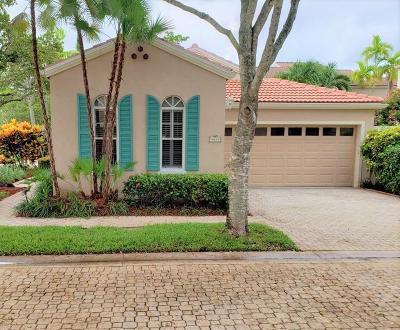 Palm Beach Gardens Single Family Home For Sale: 45 Via Verona