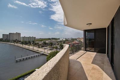 West Palm Beach Condo For Sale: 1200 S Flagler Drive #805