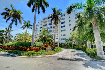 Delray Beach Condo For Sale: 1000 Lowry Street #5g