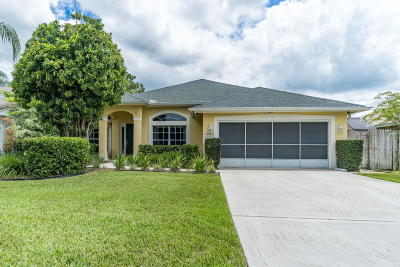 Jupiter Single Family Home For Sale: 6398 Leslie Street