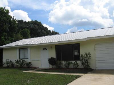 Vero Beach Single Family Home For Sale: 2066 8th Avenue SW