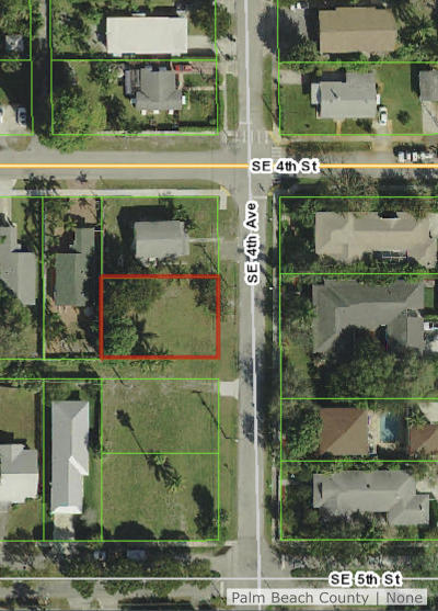 Delray Beach Residential Lots & Land For Sale: 404 SE 4th Avenue