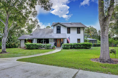 Fort Pierce Single Family Home For Sale: 620 Russ Road