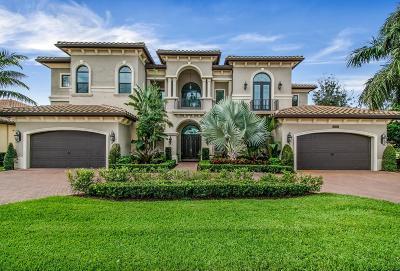 Delray Beach  Single Family Home For Sale: 16763 Crown Bridge Drive