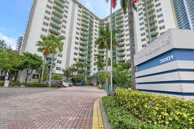 Hollywood Condo For Sale: 3001 S Ocean Drive #201