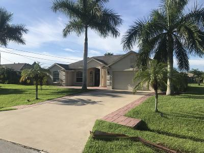 St Lucie County Single Family Home For Sale: 2792 SW Altamira Avenue