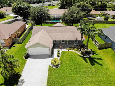 Port Saint Lucie Single Family Home For Sale: 1806 SW Altman Avenue