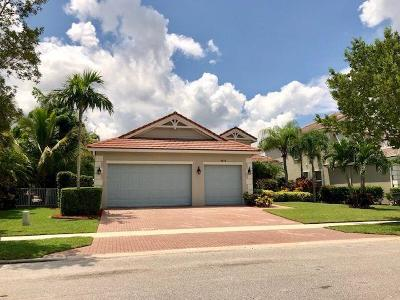Royal Palm Beach Single Family Home For Sale: 9418 Madewood Court