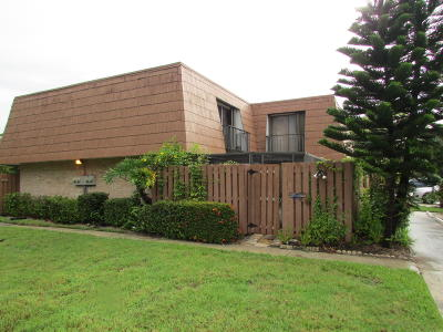 Stuart Townhouse For Sale: 5805 SE Riverboat Drive #407