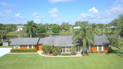 West Palm Beach Single Family Home For Sale: 863 Whippoorwill Terrace