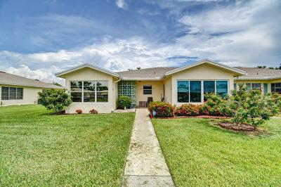 Delray Beach Single Family Home For Sale: 5361 Lakefront Boulevard #A