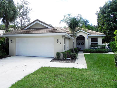 Jupiter Single Family Home For Sale: 242 Sussex Circle