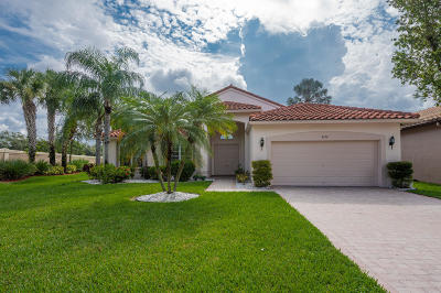 Boynton Beach Single Family Home For Sale: 8950 Torcello Way