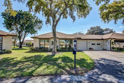 Boynton Beach Single Family Home Contingent: 4673 Robinwood Circle #A