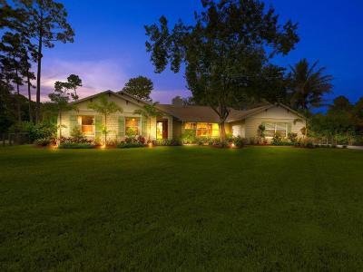 Jupiter Single Family Home Pending: 12128 154th Road