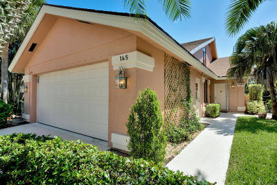 Jupiter Single Family Home For Sale: 145 Sand Pine Drive