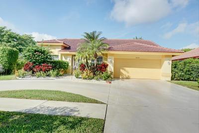 Boca Raton Single Family Home For Sale: 20124 Back Nine Drive