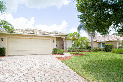 Port Saint Lucie Single Family Home For Sale: 510 NW Waverly Circle