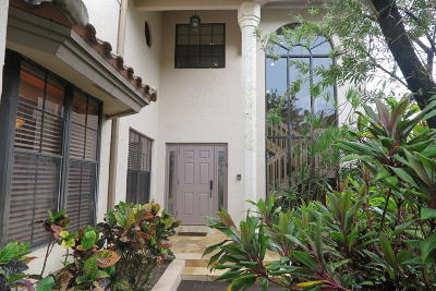 Boca Raton Townhouse For Sale: 22812 El Dorado Drive