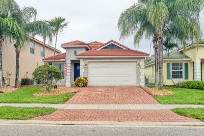 Royal Palm Beach Single Family Home Contingent: 310 Mulberry Grove Road
