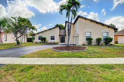 Boca Raton Single Family Home For Sale: 21508 Woodchuck Way