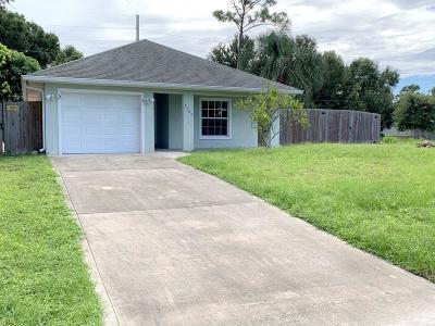 Vero Beach Single Family Home For Sale: 7560 58th Court